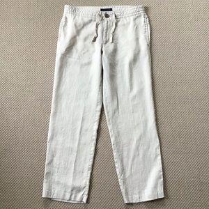 TOMMY HILFIGER   100% Linen Pants 33x30.5